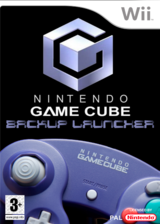 GameCube Backup Launcher Homebrew cover (DGCA)