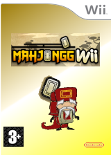 Mahjongg Wii Homebrew cover (DMJA)