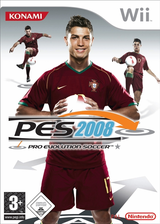 Pro Evolution Soccer 2008 (Demo) Wii cover (DWEPA4)