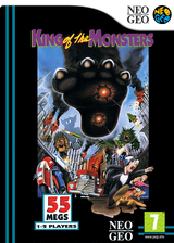 King of the Monsters VC-NEOGEO cover (EAOP)