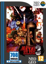 Metal Slug 3 VC-NEOGEO cover (EB6P)