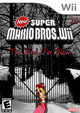 New SUPER MARIO BROS. Wii 20 The End For Now CUSTOM cover (ENDP01)