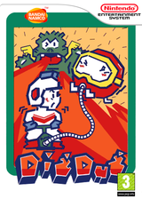 Dig Dug VC-NES cover (FEDL)