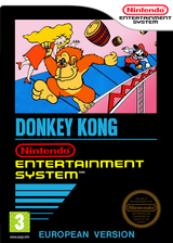 Donkey Kong: Original Edition VC-NES cover (FFWP)