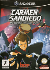 Carmen Sandiego: The Secret of the Stolen Drums GameCube cover (G3DP6L)