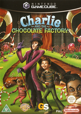 Charlie and the Chocolate Factory GameCube cover (G4CP54)