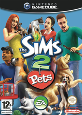 The Sims 2 : Pets GameCube cover (G4OP69)