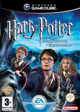 Harry Potter and the Prisoner of Azkaban GameCube cover (GAZP69)