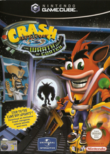 Crash Bandicoot: The Wrath of Cortex GameCube cover (GCBP7D)