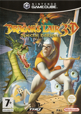 Dragon's Lair 3D Special Edition GameCube cover (GDGP78)