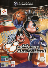 Disney Sports: Basketball GameCube cover (GDLPA4)