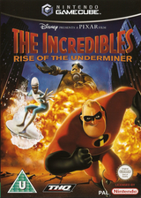 The Incredibles: Rise of the Underminer GameCube cover (GIQX78)