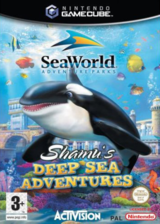 SeaWorld Adventure Parks: Shamu's Deep Sea Adventures GameCube cover (GJZP52)