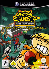 Codename: Kids Next Door - Operation: V.I.D.E.O.G.A.M.E. GameCube cover (GKZD54)