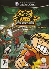Codename Kids Next Door - Operation V.I.D.E.O.G.A.M.E GameCube cover (GKZP54)