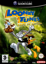 Looney Tunes: Back in Action GameCube cover (GLNP69)