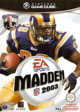 Madden NFL 2003 GameCube cover (GM3P69)