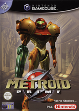 Metroid Prime GameCube cover (GM8P01)