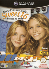Mary-Kate and Ashley: Sweet 16 Licensed to Drive GameCube cover (GMAP51)