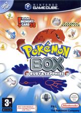 Pokémon Box: Ruby & Sapphire GameCube cover (GPXP01)