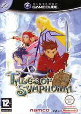 Tales of Symphonia GameCube cover (GQSSAF)