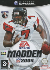 Madden NFL 2004 GameCube cover (GQXP69)