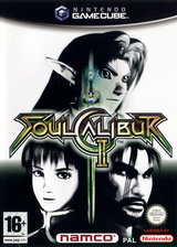 SoulCalibur II GameCube cover (GRSPAF)