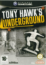 Tony Hawk's Underground GameCube cover (GTDP52)