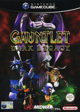 Gauntlet: Dark Legacy GameCube cover (GUNP5D)