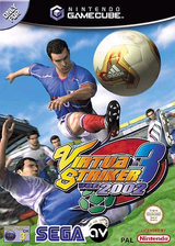 Virtua Striker 3 Ver. 2002 GameCube cover (GVSP8P)
