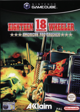 18 Wheeler American Pro Trucker GameCube cover (GWEP8P)