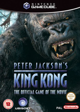 Peter Jackson's King Kong: The Official Game of the Movie GameCube cover (GWKP41)