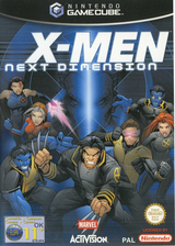 X-Men: Next Dimension GameCube cover (GXMP52)