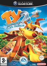 Ty the Tasmanian Tiger 2: Bush Rescue GameCube cover (GYTP69)