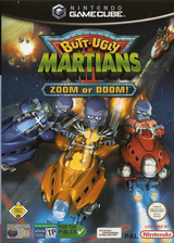 Butt-Ugly Martians Zoom or Doom GameCube cover (GZMP7D)