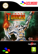 Super Turrican VC-SNES cover (JBTP)