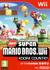 Koopa Country CUSTOM cover (KMNP10)