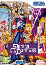 Shining in the Darkness VC-MD cover (MA7P)