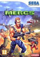 MERCS: Wolf of the Battlefield VC-MD cover (MCRP)