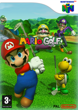 Mario Golf VC-N64 cover (NAUP)