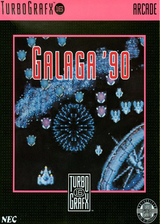 Galaga'90 VC-PCE cover (PAWP)