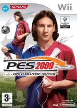Pro Evolution Soccer 2009 Wii cover (R2WPA4)