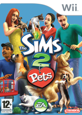 The Sims 2: Pets Wii cover (R4PP69)