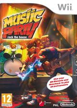 Musiic Party: Rock the House Wii cover (R7MPFR)