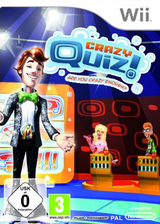 Crazy Quiz! Are You Crazy Enough? Wii cover (R8QPRT)