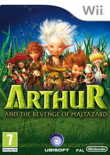 Arthur and the Revenge of Maltazard Wii cover (R8RP41)