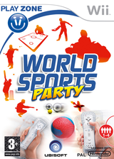 World Sports Party Wii cover (R8SX41)