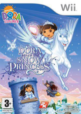 Dora Saves the Snow Princess Wii cover (RDPX54)