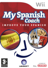 My Spanish Coach: Improve Your Spanish Wii cover (RESP41)