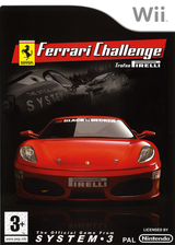 Ferrari Challenge Wii cover (RF3P6M)